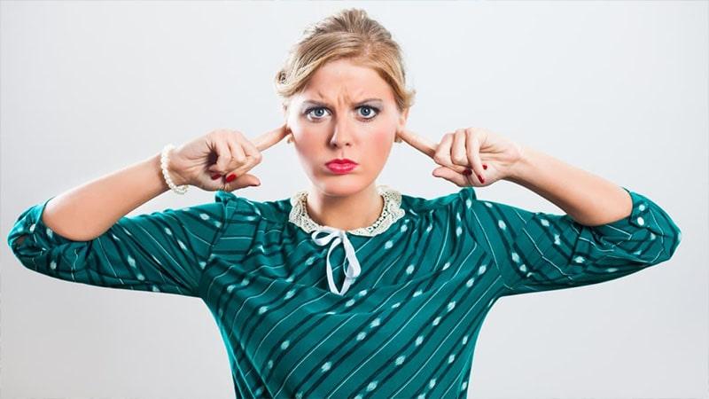 اولین نشانه برای تایید مشکل شنوایی شما که نویزها سبب آن شده اند